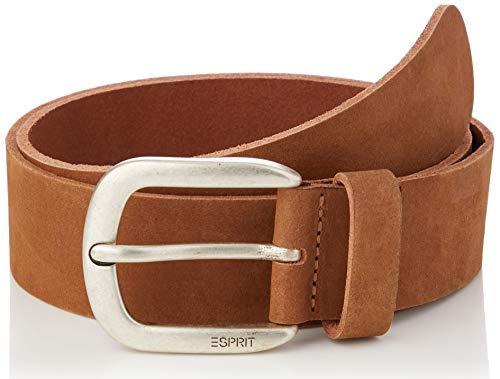 Esprit 990ea1s304 Cinturón, 220/Marrón Oscuro, 80 para Mujer