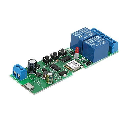 Sonoff Intelligente Interruttore WiFI, 2CH DC5V / 7-32V Senza Fili Modulo Interruttore Universale Timer per Smart Home Compatibile con'Amazon' Alexa Google Home