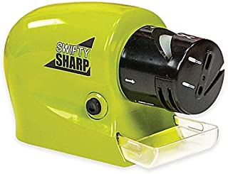 Swifty Sharp Cordless Motorized Knife Sharpener - Green