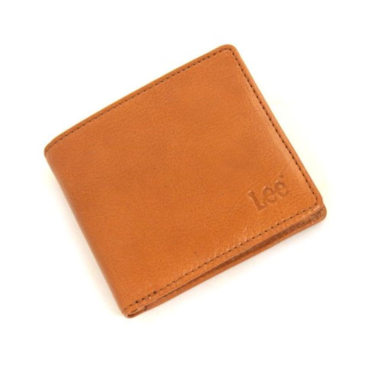 大学院蜂行為LEE(リー)520233砂村オリジナルシリーズ二つ折り財布 ブラウン