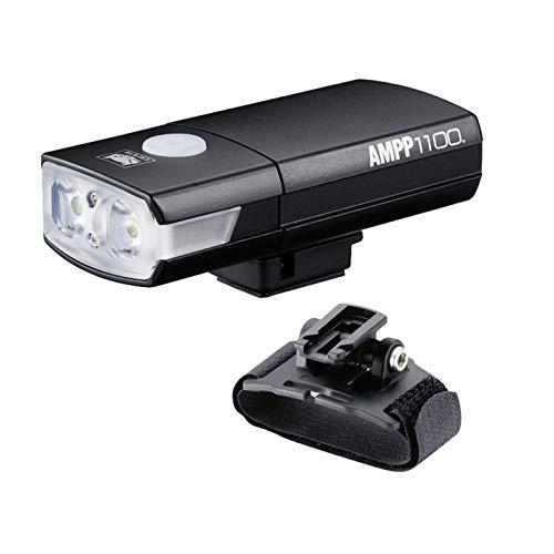 Cateye Fahrradlampe Helmlampe AMPP 1100 inkl. Zubehör