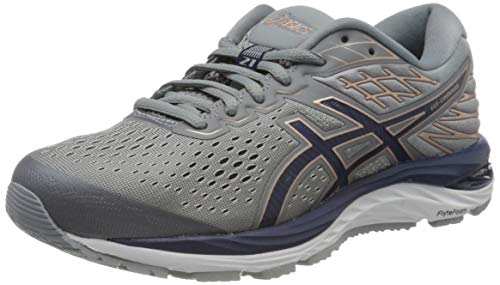 Asics Damen Gel-Cumulus 21 Running Shoe, Sheet Rock/Pea...