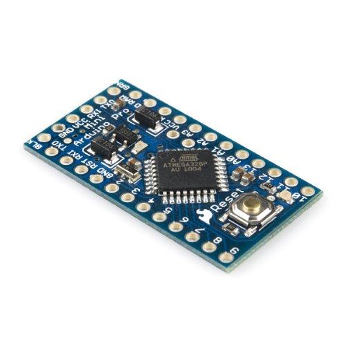 Sparkfun Arduino Pro Mini 328 de 3,3V, 8MHz