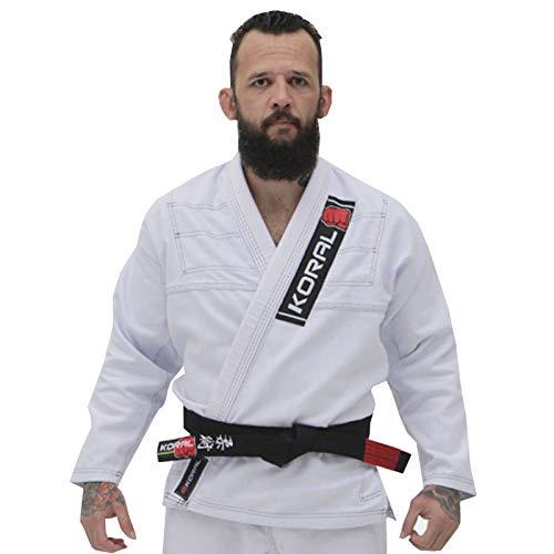 Kimono Jiu Jitsu Koral One Branco-A2