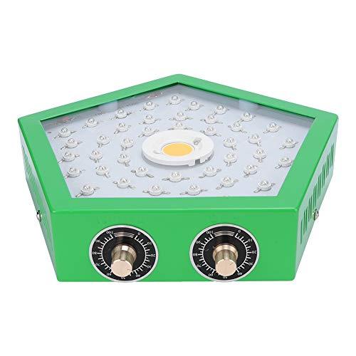 CDSL Lámpara Enchufe del Reino Unido AC85-265V 1100W Crecimiento LED LED Plantas Cultivo Luz Luz Doble Perilla Completo COB Grow Lamp