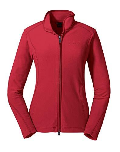 Schöffel Damen Fleece Jacket Leona2 Fleecejacke, Hibiscus, 34