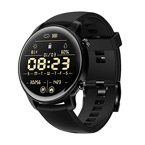 QIAI Smart Watch Fitness Tracker Fitness Watch Monitoreo De Ritmo Cardíaco SmartWatch Fitness Tracker con Sleep Monitor SmartWatch(Color:B)