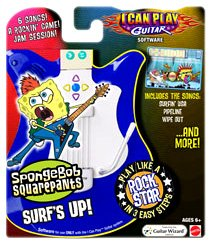 Fisher-Price I Can Play Guitar SW SpongeBob'Surf's Up