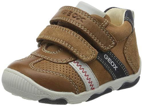 Geox Baby Jungen B New BALU\' Boy B Sneaker, Braun (Caramel C5102), 19 EU
