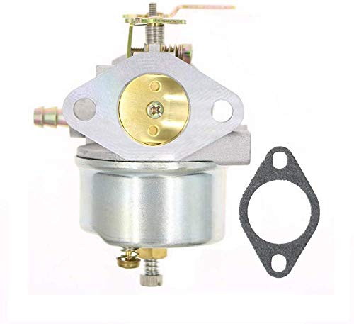 Carburatore Regolabile con Guarnizione per Spazzaneve Tecumseh 8HP 9HP 10HP 640349 640052 640054