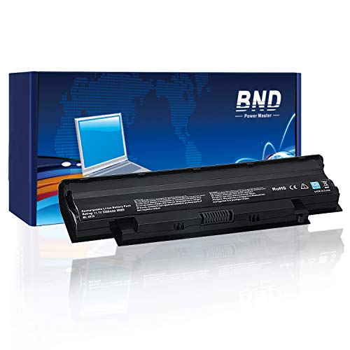 BND 5200mAh Laptop Battery Compatible with Dell Inspiron J1KND N3010 N4010 14R N4110 N5010 N5110 N7010 M5110 M4110 M501 M503 Series, Vostro 3550 3550n 3750