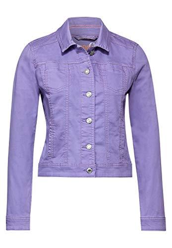 Street One Damen Kurze Indoor Jacke Clear Lilac Soft wash 40