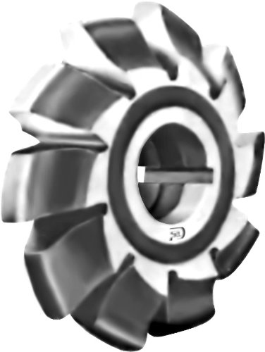 F&D Tool Company 13017 Involute Gear Milling Cutter, High Speed Steel, Form Relieved, 14 1/2 Degree Pressure Angle, 5 Cutter Number, 14' Diametrical Pitch, 7/8' Hole Size, 2 1/8' Diameter
