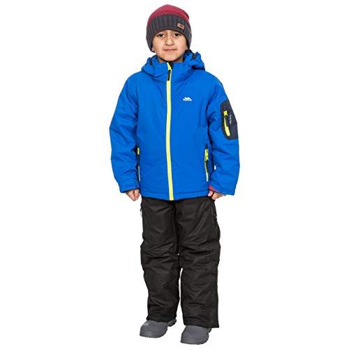 Trespass - Chaqueta esquí niños Impermeable, Capucha