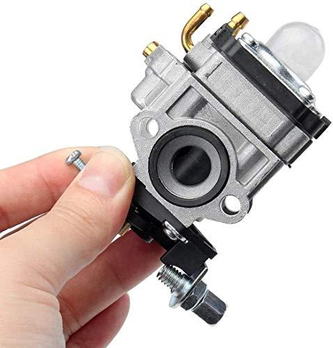 FHSF Reemplazar Motor de carburador Parte del inyector Kits de reconstrucción for Echo SRM 260S 261S Césped Carb W/Junta BC4401DW 10mm Trimmer Carburador Kit de Carb 113