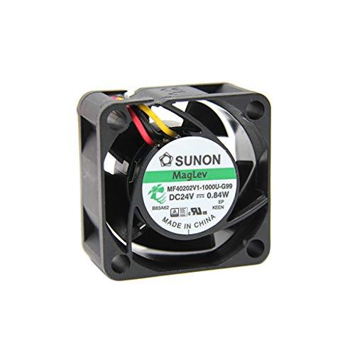 Vapo Sunon MF40202V1-G99-A - Ventilador DC axial (24 V CC, 40 x 40 x 20 mm, 15.04 m3/h, 25,5 dBA)