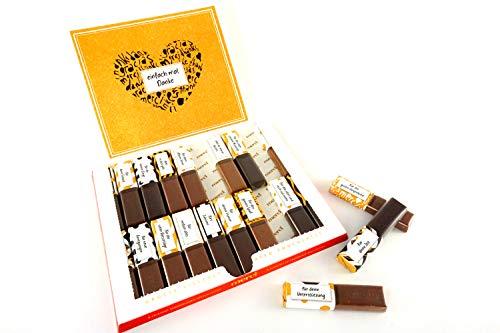 SURPRISA Aufkleberset für Merci-Schokolade: Das persönliche Dankeschön und kreative Geschenk für Freundin, Freund, Mutter, Vater