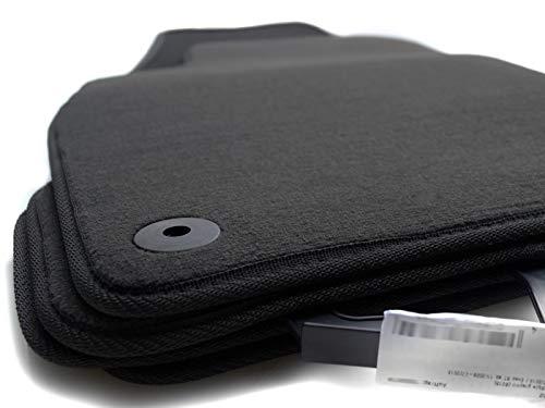 Fußmatten passend für Golf 7 5G (Velours) Automatten Set, 4-teilig, Schwarz, Passform
