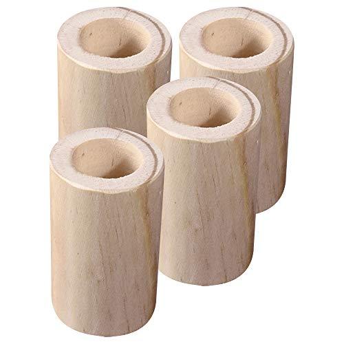 YINSONG Taza De Pie De Muebles con Elevador De Cama De 5 Cm De Alto, Elevador De Muebles De Alta Carga, Adecuado para Mueble De Sofá TV,6.0 * 5Cm