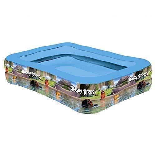 Lively Moments Famille Piscine/Bassin Gonflable/Piscine pour Enfants / Aufblaspool Angry Birds Env. 200 X 150 X 50 CM