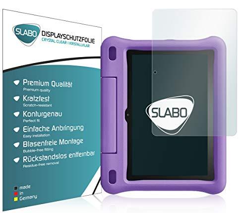Slabo 2 x Bildschirmschutzfolie für Amazon Fire HD 8 Kids Edition-Tablet (2020) Bildschirmschutz Schutzfolie Folie Crystal Clear KLAR