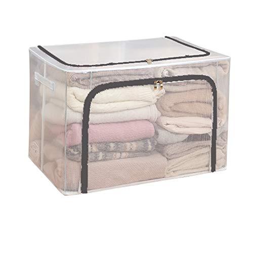 SXET Armario para el hogar Ropa Bolsa de Almacenamiento Plegable Cesta Caja de Almacenamiento de artefactos Caja de organización de Ropa de Tela Caja de Dormitorio