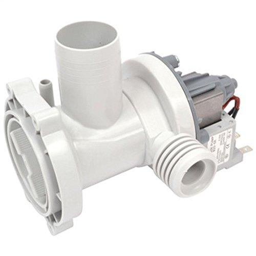 spares2go Ablaufpumpe Pumpe mit Filter & Gehäuse für HEC Waschmaschine