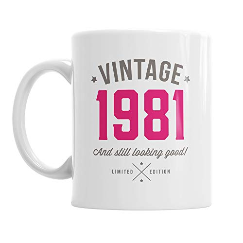 Vintage 1981 and Still Looking Good 40th Birthday Mug gift
