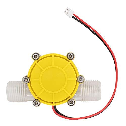 ApplianPar Yellow 10W Water Turbine Generator Micro Hydroelectric DIY LED Power DC 12V Water Flow Generator Charging Tool