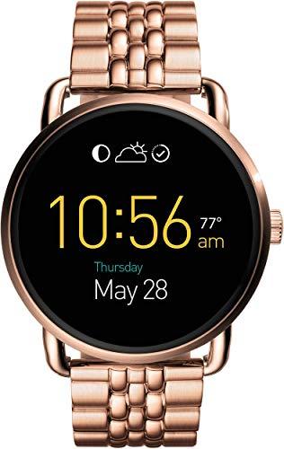 Fossil Q Wander Gen 2 Rose Gold-Tone Stainless Steel Touchscreen Smartwatch FTW2112