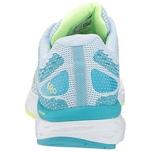 New Balance Women's 680 V6 Running Shoe, Grey/Blue/Lemon, 8.5 Wide
