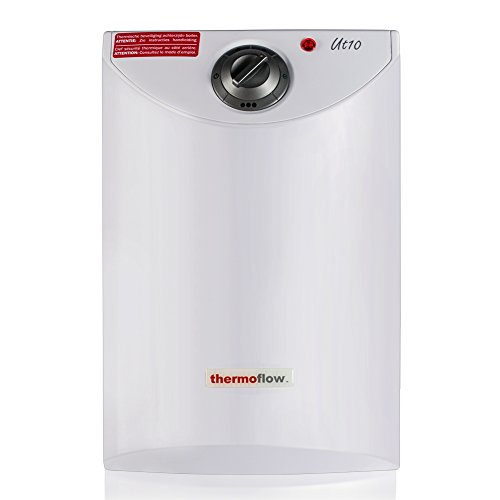 Thermoflow UT10 2.6-Gallons Electric Mini-Tank Water Heater for Under Sinks 110V - 120V, 1.5kW at 120 Volts