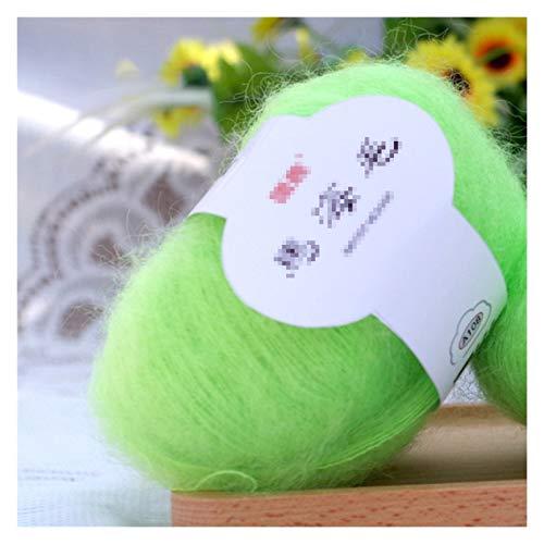 WESET Invierno suave colorido lana cachemira tejer lana leche dulce crochet hilado chal bufanda...