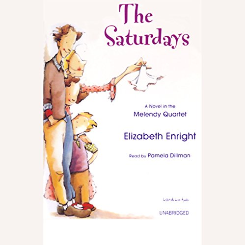 The Saturdays Audiobook By Elizabeth Enright cover art