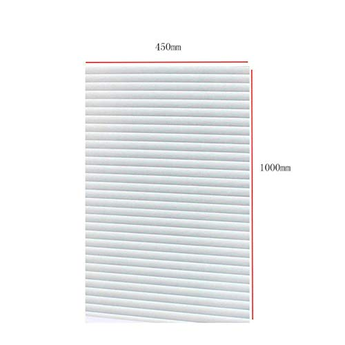PVC glasfilm breed ondoorzichtig privacy statisch glazen raam Home Decor raambekleding Stickers Kantoor Badkamer, G203091C