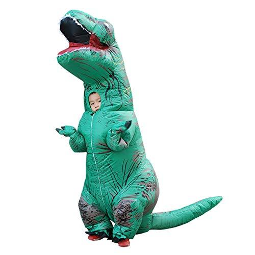 SMchwbc Cosplay Erwachsene aufblasbare Dinosaurier Kostüm Dinosaurier Cosplay Kostüm Halloween Kostüm Für Männer Frauen Party Kostüm Anzug Kleidung Aufblasbare Kleidung