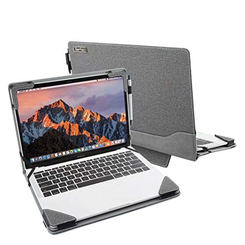 Berfea Laptop-Schutzhülle, kompatibel mit HP Stream 11 ENVY 13 Stream 14 Pavilion 15 EliteBook 820 / Dell Inspiron 15 ,13 / Lenovo ThinkBook 14 IdeaPad / LG Gram / Acer Aspire