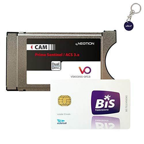 Neotion cw64/Viaccess/ tambi/én para Dorcel y Dorcel XXX en Astra /M/ódulo Ci Secure CAM para HOTBIRD y Astra Canales