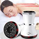 Carrefy Electric Scraping Massager, Infrared Heating/Magnetic Wave Physiotherapy/Negative Pressure, Slimming Cupping Guasha, Warm Moxibustion, Type-C Charging