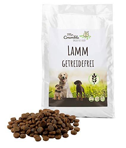 Mr. Crumble Dried Pet Food Hundefutter trocken getreidefrei mit Lamm für adulte Hunde 15 kg
