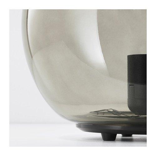 Unbekannt IKEA Fado Tischleuchte in grau; (24cm); A++