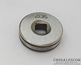 CHNsalescom Mig Welder Wire Feed Drive Roller Roll Parts 0.8-0.9 Kunrled-Groove .030