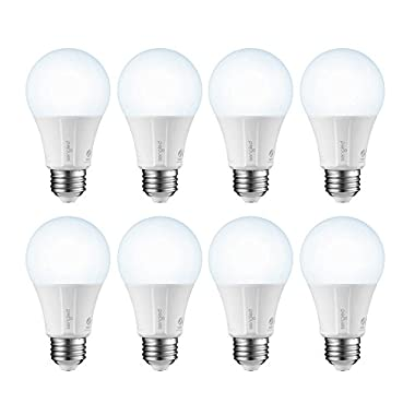 Element Classic by Sengled - A19 Daylight 5000K Smart LED Bulb (Hub Required), Works with Alexa, Google Assistant, Echo Plus & SmartThings - 8 Pack
