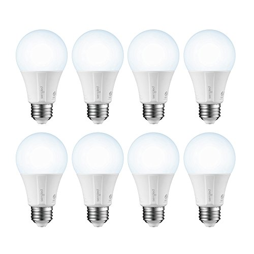 Sengled Smart LED Daylight A19 Light Bulb, Hub Required, 5000K 60W Equivalent, Compatible with Alexa, Google Assistant & SmartThings, 8 Pack