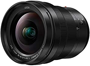 Panasonic LUMIX Professional 8-18mm Camera Lens, G LEICA DG VARIO-ELMARIT, F2.8-4.0 ASPH, Mirrorless Micro Four Thirds, H-E08018 (Black)