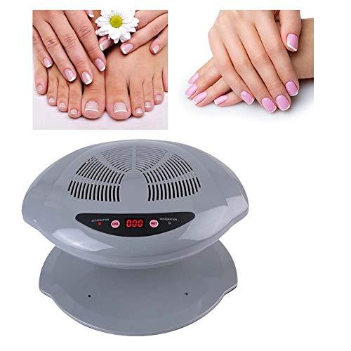 Aspirapolvere per unghie professionale, ventola per asciuga unghie, asciuga unghie con smalto regolabile per aria fredda e calda Strumento per manicure con asciugatura per smalto unghie (# 2)