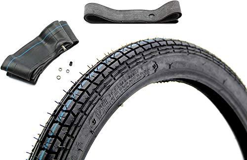 Set Kenda K251 Reifen 2,25 x 19 Zoll + Schlauch + Felgenband