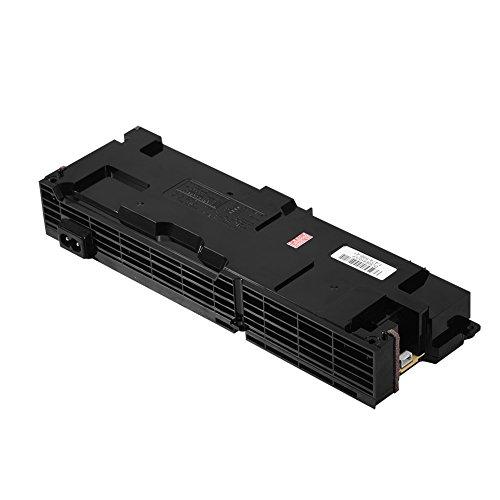 Richer-R Ersatz ADP-240CR 4 Pin Netzteil, 12V 17,5A PS4 Playstation 4 Netzteil 4 Pin,Kompatibel mit Sony Playstation 4 PS4 CUH-1100A Serie Schwarz