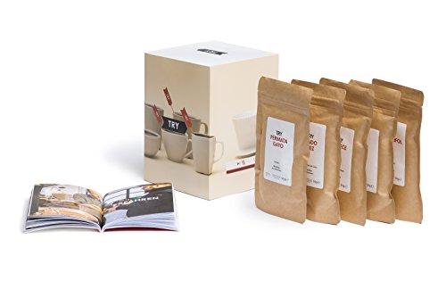 TRY Kaffee Geschenkset, ganze Bohnen - bekannt aus