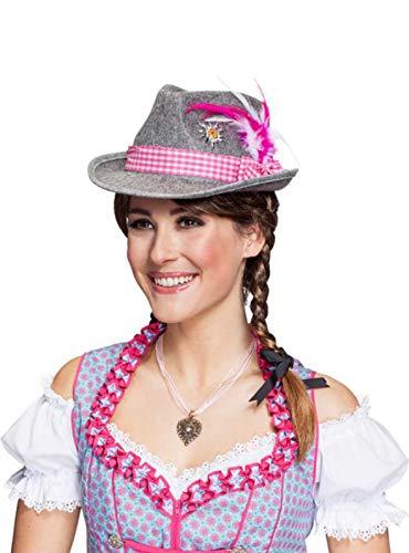 Chapeau bavarois Moni pour déguisement, chapeau pour le festival Oktoberfest